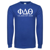 Royal Long Sleeve T Shirt-Class of Design