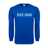 Royal Long Sleeve T Shirt-Founders Day 1848