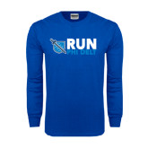 Royal Long Sleeve T Shirt-Run Phi Delt