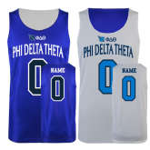 Royal/White Reversible Tank-Personalized w/Name and #