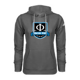 Adidas Climawarm Charcoal Team Issue Hoodie-Iron Phi Shield