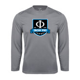 Performance Steel Longsleeve Shirt-Iron Phi Shield