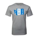 Sport Grey T Shirt-Washington