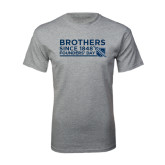 Grey T Shirt-Brothers/Founders Day