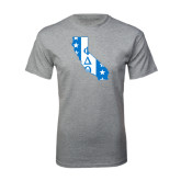 Grey T Shirt-California