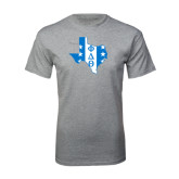 Grey T Shirt-Texas