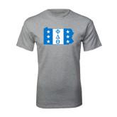 Sport Grey T Shirt-Pennsylvania