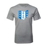 Grey T Shirt-Ohio