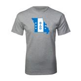 Sport Grey T Shirt-Missouri