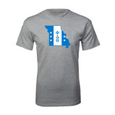 Grey T Shirt-Missouri