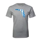 Sport Grey T Shirt-Florida