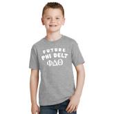 Youth Grey T-Shirt-Future Phi Delt