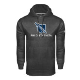 Under Armour Carbon Performance Sweats Team Hoodie-Stacked Shield/Phi Delta Theta