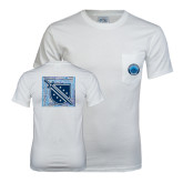 White T Shirt w/Pocket-Kleberg Shirt Design