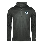 Russell Charcoal Heather 1/4 Zip-LLL Base