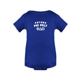 Royal Infant Onesie-Future Phi Delt