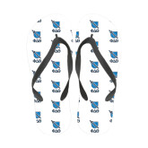 Full Color Flip Flops-Stacked Shield/Phi Delta Theta Symbols