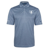 Nike Golf Dri Fit Navy Heather Polo-LLL Base