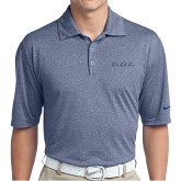 Nike Golf Dri Fit Navy Heather Polo-LLL Signature
