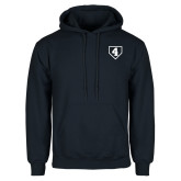 Navy Fleece Hoodie-LLL Base