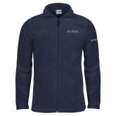 Columbia Full Zip Navy Fleece Jacket-LLL Signature
