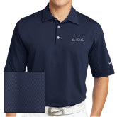 Nike Sphere Dry Navy Diamond Polo-LLL Signature