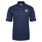 Nike Golf Tech Dri Fit Navy Polo-LLL Base