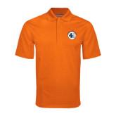 Orange Mini Stripe Polo-Lou Gehrig Memorial Award