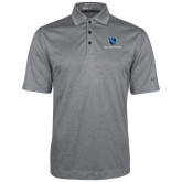 Nike Golf Dri Fit Charcoal Heather Polo-Stacked Shield/Phi Delta Theta