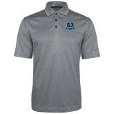 Nike Golf Dri Fit Charcoal Heather Polo-Iron Phi Shield