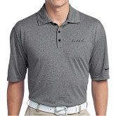 Nike Golf Dri Fit Charcoal Heather Polo-LLL Signature