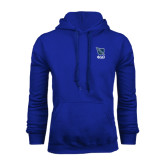 Royal Fleece Hoodie-Stacked Shield/Phi Delta Theta Symbols