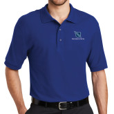 Royal Easycare Pique Polo-Stacked Shield/Phi Delta Theta