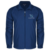 Full Zip Royal Wind Jacket-Stacked Shield/Phi Delta Theta