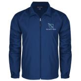 Full Zip Royal Wind Jacket-Stacked Shield/Phi Delta Theta