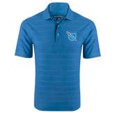 Sapphire Horizontal Textured Polo-Shield