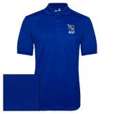 Royal Dry Mesh Polo-Stacked Shield/Phi Delta Theta Symbols