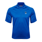 Royal Textured Saddle Shoulder Polo-Stacked Shield/Phi Delta Theta Symbols