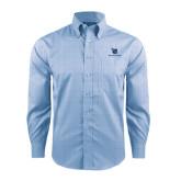 Red House Light Blue Plaid Long Sleeve Shirt-Stacked Shield/Phi Delta Theta