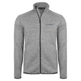 Grey Heather Fleece Jacket-LLL Signature