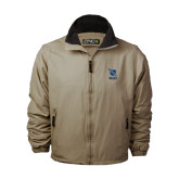 Khaki Survivor Jacket-Stacked Shield/Phi Delta Theta Symbols