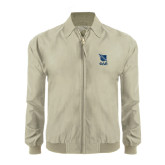 Khaki Players Jacket-Stacked Shield/Phi Delta Theta Symbols