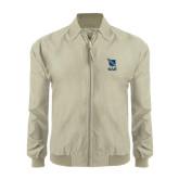 Khaki Players Jacket-Stacked Shield/Phi Delta Theta Symbols