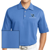 Nike Sphere Dry Light Blue Diamond Polo-Stacked Shield/Phi Delta Theta