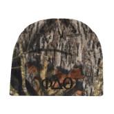 Mossy Oak Camo Fleece Beanie-Phi Delta Theta Symbols