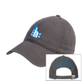 Charcoal Twill Unstructured Low Profile Hat-Idaho