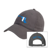 Charcoal Twill Unstructured Low Profile Hat-Maryland