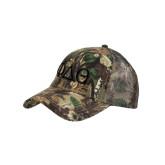 Camo Pro Style Mesh Back Structured Hat-Phi Delta Theta Symbols