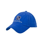 Royal Twill Unstructured Low Profile Hat-Stacked Shield/Phi Delta Theta