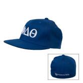 Royal OttoFlex Flat Bill Pro Style Hat-Phi Delta Theta Symbols